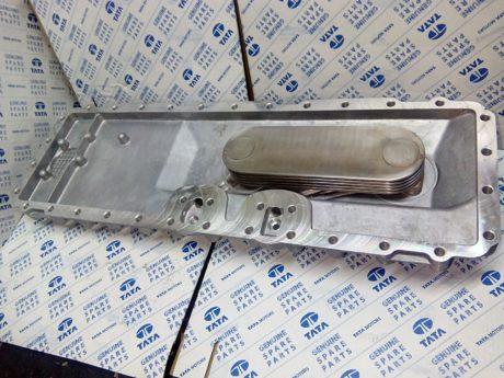 252518170169 – Крышка маслянного радиатора (теплообменник в сборе)